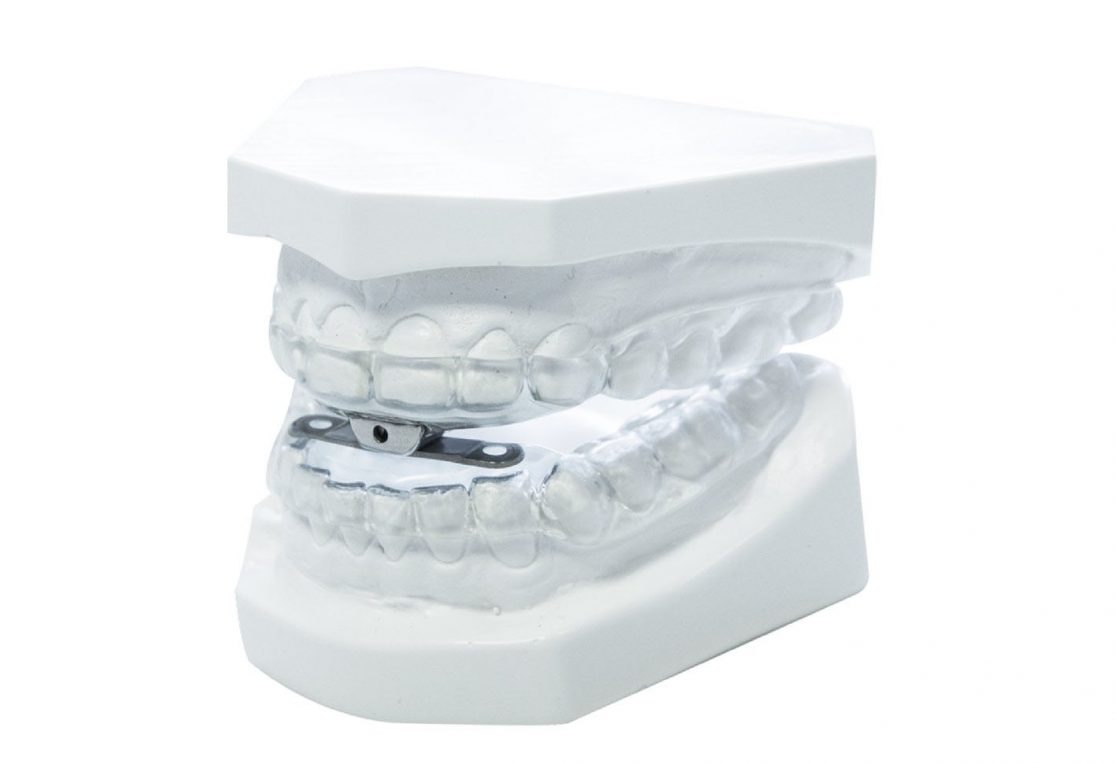 Sleepwell Device in mouth